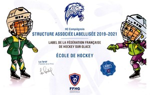 Obtention du label FFHG  Ecole de Hockey