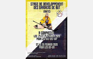 Stage de Ligue - Gardien de But